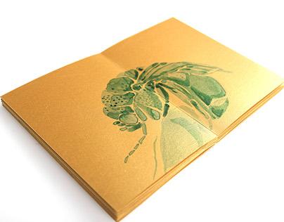 Artist's Book: Ink Bugs