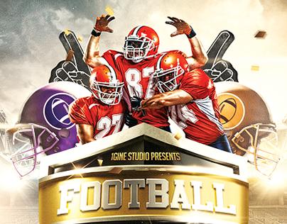 Football Night Flyer Template v2