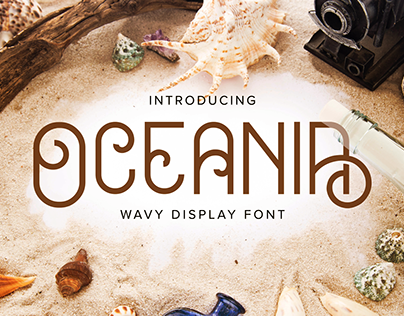 Oceania - Display Font