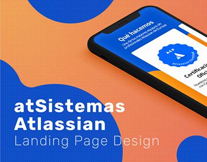 atSistemas/Atlassian - Landin Page