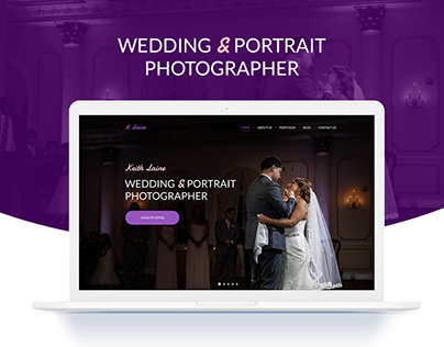 Website design for photographer