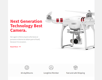 Camera/Drone Email template