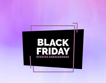 Campanha Black Friday Clínica de Estética
