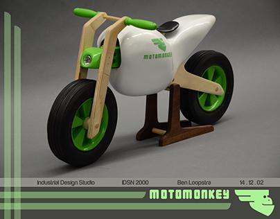 MotoMonkey Balance Bike Concept Process and Final