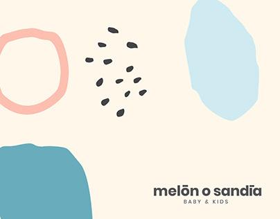 Melón o Sandía