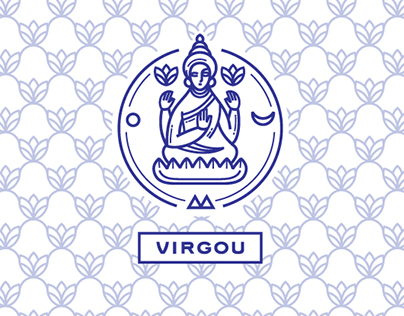 Virgou. Yoga studio.