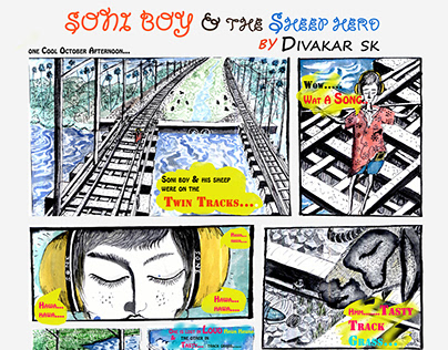 Soniboy & the Sheep herd - Comic