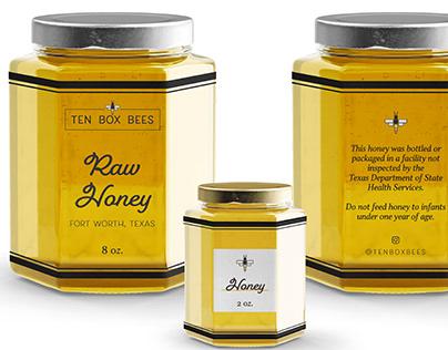 Ten Box Bees Branding Design by Logodentity