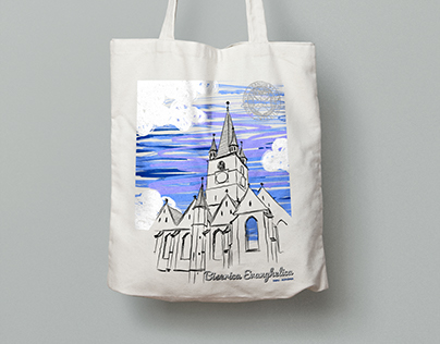 Illustration - Souvenir Tote Bag
