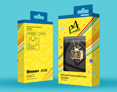 Necklace Design and Packaging