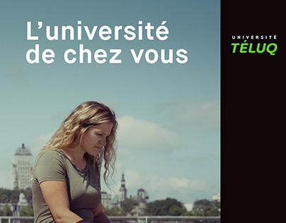 Université TÉLUQ L'université de chez vous
