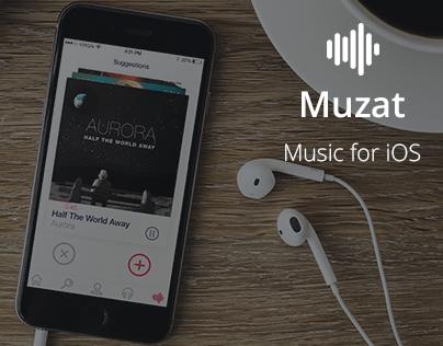 Muzat : IOS Music App