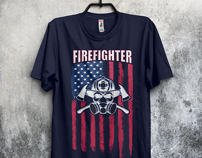 Firefighter T-Shirts Design Bundle​​​​​​​ 4