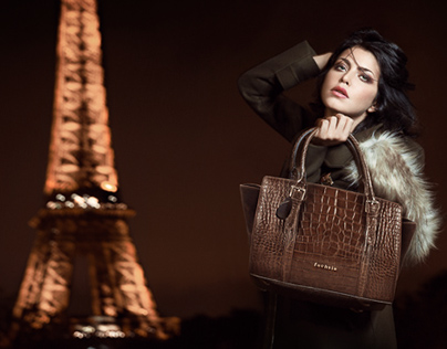 Fashion Bags Campaign Paris