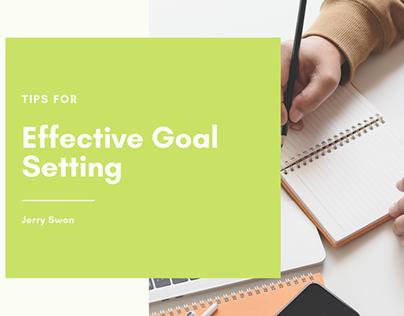 Tips for Effective Goal Setting