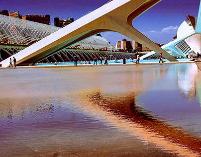 Valencia, la cité des arts et des sciences