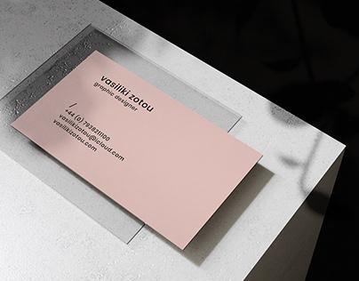 Personal Branding - Vasiliki Zotou