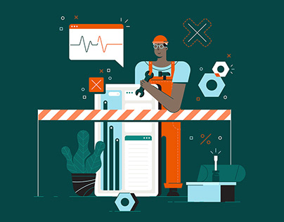 Illustrations for Tilt Africa