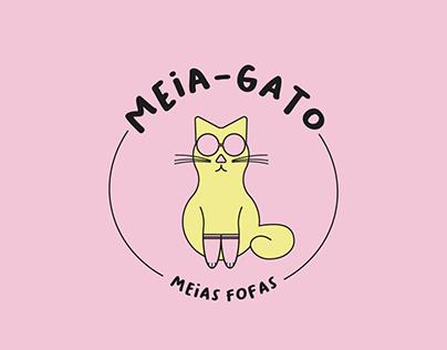 Meia-Gato | Projeto de Id. Visual