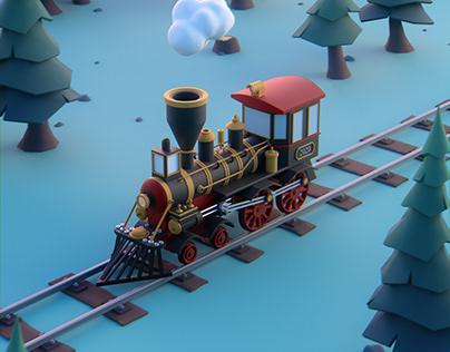 Tchou-Tchou The Locomotive