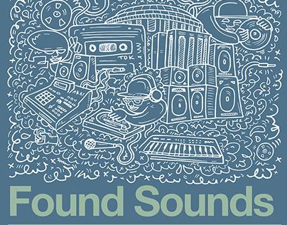 Found Sounds - Flyer Artwork & Design - Brighter Sound