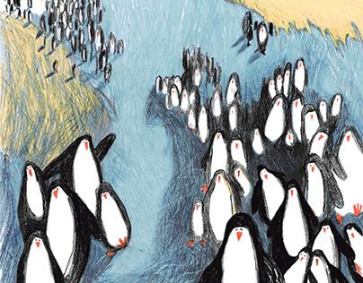 Donald Bisset, Baby penguin named prince