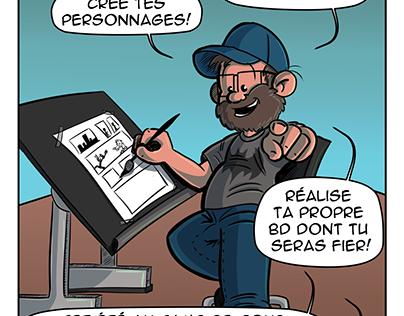Atelier de bande dessinée