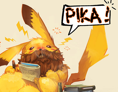 Old Man Pikachu