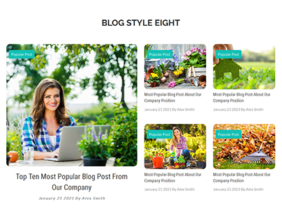 Blog Post Design For Our Client.