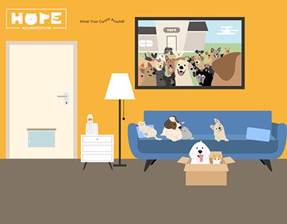 Adhopetion Website Design