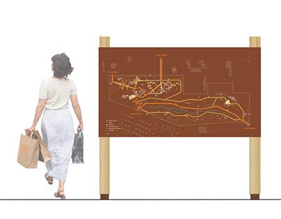Kastamonu National Garden — Wayfinding Map