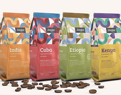 Janko coffee packaging