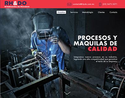 RH&DO | Web Concept