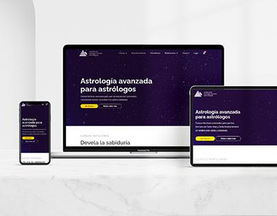 Academia María Blaquier - Branding & Website