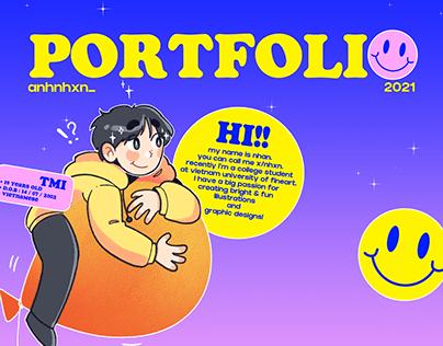 X's PORTFOLIO 2021 - Illustration & Graphic Design
