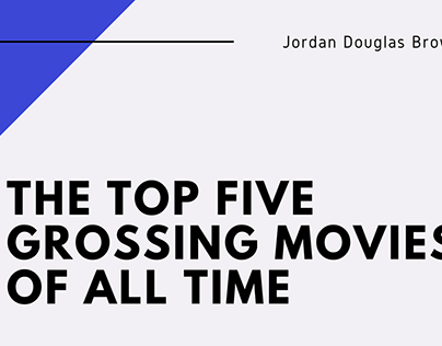 The Top Five Grossing Movies of All Time