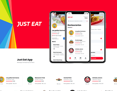 Just Eat App - Redesign Concept