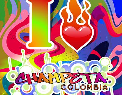 Piezas digitales Champeta Colombia