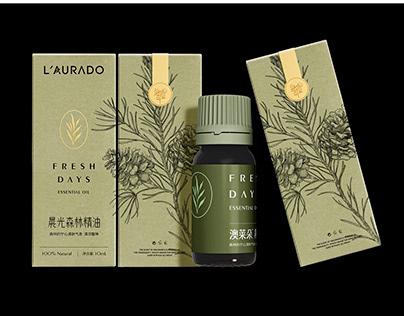 L'AURADO Essential oil packaging