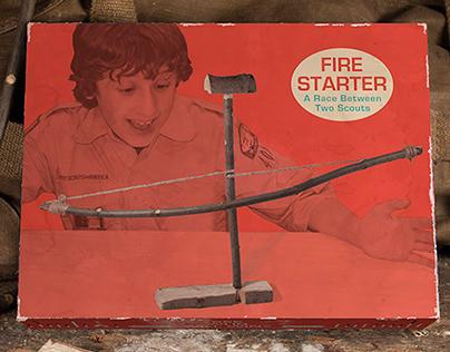 Fire Starter packaging