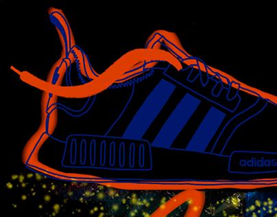 Adidas NMD visuals