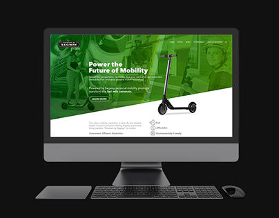 Powered by Segway Website Design