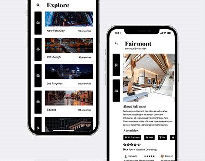 Booking.com—Travel App Redesign