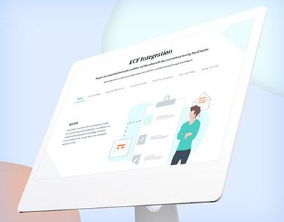 Landing Page Design - Mova