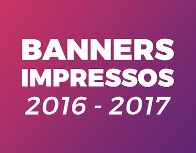 Banners impressos 2016-2017