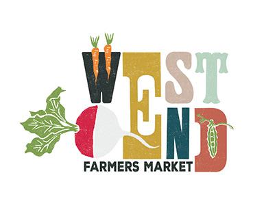 LOGO MARK \\ west end farmers market