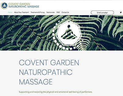 Covent Garden Naturopathic Massage logo