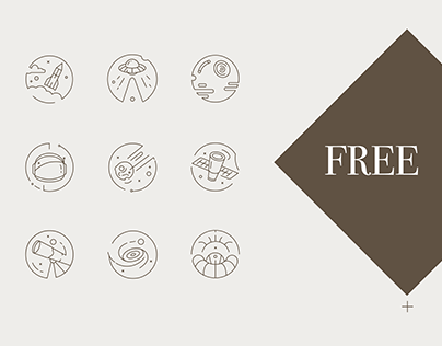 Free Space Icon Set