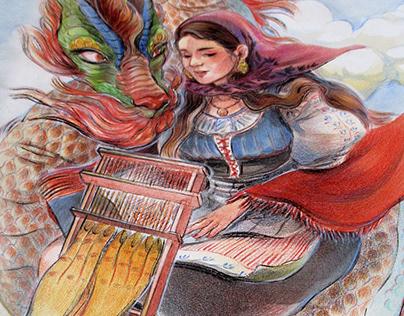 The dragon weaver