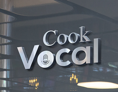 Cook Vocal Studio logo design